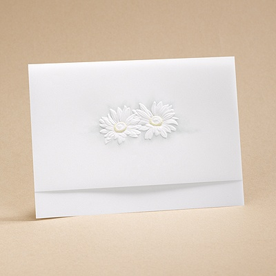 He Loves Me - Respond Card And Envelope