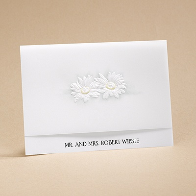 He Loves Me - Informal Card And Envelope