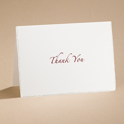 Embraceable You - Thank You Card with Verse and Envelope