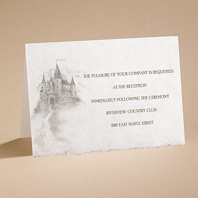 Dreams Do Come True - Reception Card