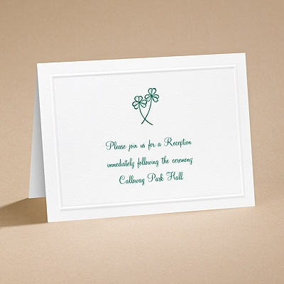 Lucky in Love - Reception Card