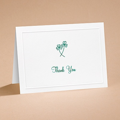 Lucky In Love - Thank You Card and Envelope