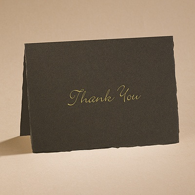 Color of Love - Mocha - Thank You Card and Envelope