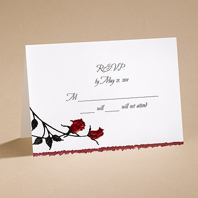 Striking - Respond Card and Envelope