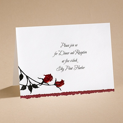 Striking - Reception Card