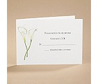 Calla Lily Connection - Response Card and Envelope