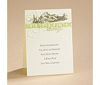 Majestic Mountains - Reception Card