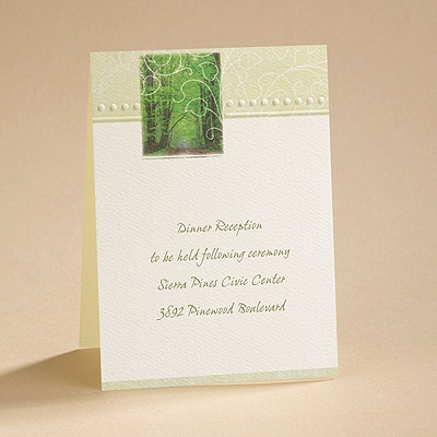 The Chosen Path - Reception Card