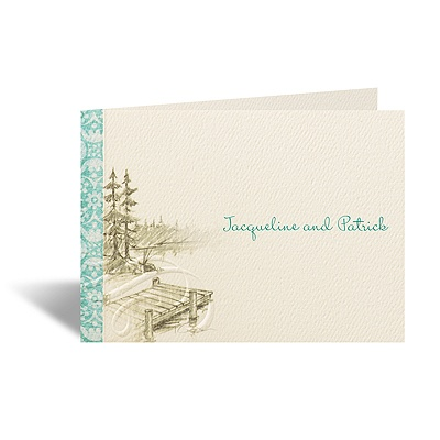 Off the Dock - Note Card and Envelope
