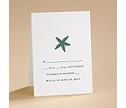 Simply Stated - White - Respond Card and Envelope