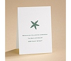 Simply Stated - White - Reception Card