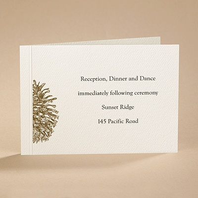 Pining Over You - Reception Card