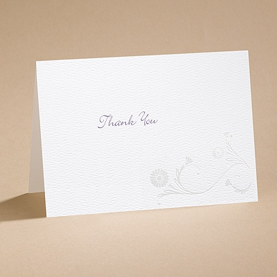 Gossamer Wings - Thank You Card with Verse and Envelope