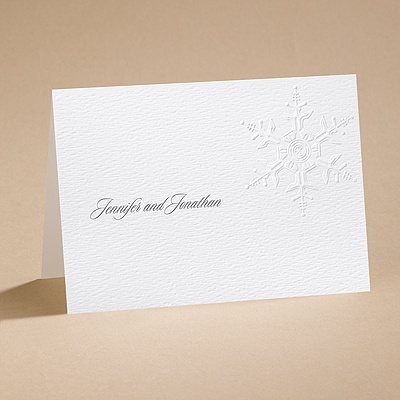Winter's Elegance - Note Card and Envelope