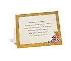 In the Vineyard - Reception Card