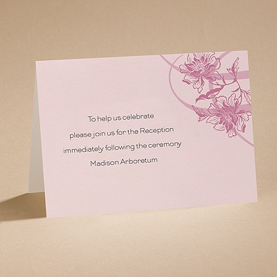 Flowers and Flourishes - Reception Folder