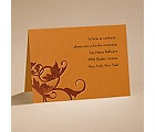 Pumpkin Passion - Reception Card