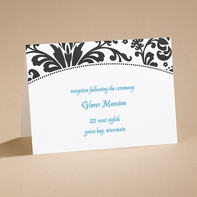 High Style - Reception Card