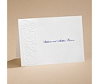Romantic Swirls - Note Card and Envelope