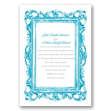 Fabulous Frames - Invitation