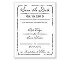 Initial Inspiration - Save the Date Card