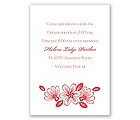 Modern Cherry Blossoms - Reception Card