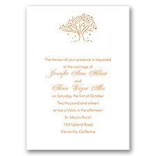 Whimsical Tree - Invitation