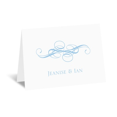 Fancy Flourishes - Note Card and Envelope