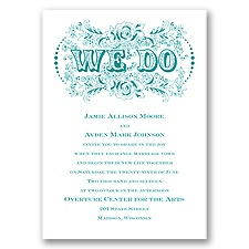 Vintage Vows - Invitation