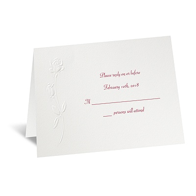 True Love - Response Card and Envelope