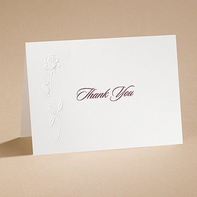 True Love - Thank You Card and Envelope