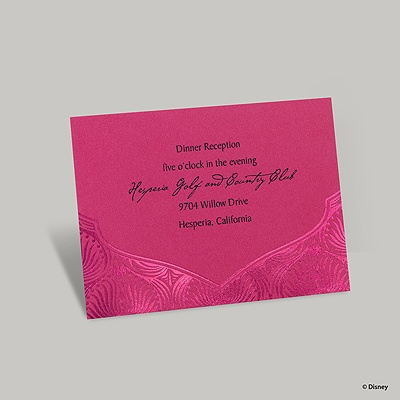 Magical Journey Reception Card - Jasmine