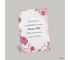 Briar Rose Reception Card - Aurora