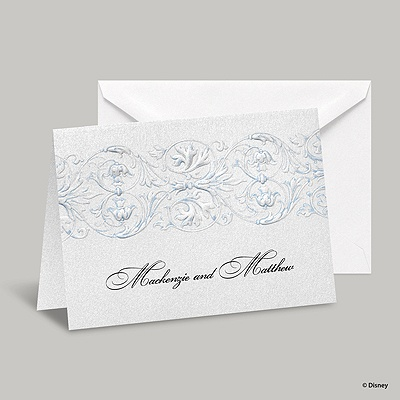 Once Upon a Time Note Card and Envelope - Cinderella