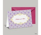 Exotic Romance Note Card and Envelope - Jasmine