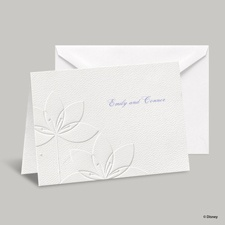 Deco Lilies Note Card and Envelope - Tiana