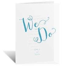 Committed - Vellum Invitation