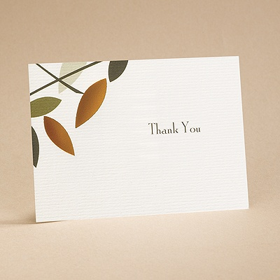 Love Birds - Thank You Card and Envelope