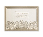 Feather Filigree - Response Card and Envelope