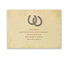 Lucky Horseshoes - Reception Card