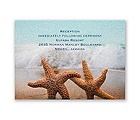 Smitten Starfish - Reception Card