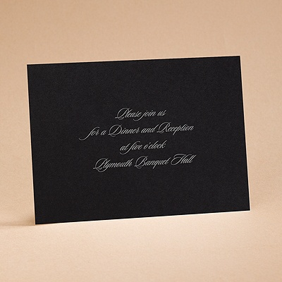 The New Black - Reception Card