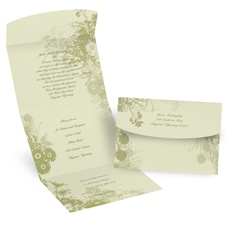 Wildflowers - Seal N Send Invitation
