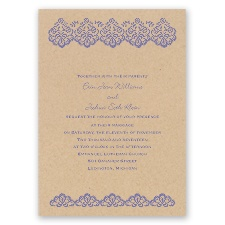 Embroidered Lace - Invitation