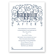 Filigree Whimsy - Invitation