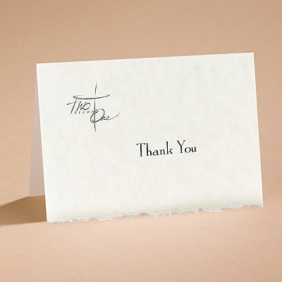 Joined By Faith - Thank You Card With Verse And Envelope