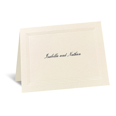Prelude - Informal Card and Envelope