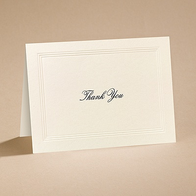 Prelude - Thank You Card with Verse and Envelope