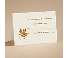 Fashionable Fall - Respond Card and Envelope