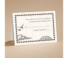 Treasure Map - Respond Card and Envelope